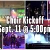 Choir Kickoff