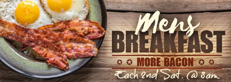 Mens Breakfast ad